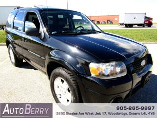 Used 2007 Ford Escape LIMITED - 4WD - 3.0L for sale in Woodbridge, ON