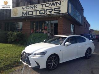 Used 2016 Lexus GS 350 F Sport/RedInt|UltraPremium|NAV|BackCam|NoAcc for sale in North York, ON