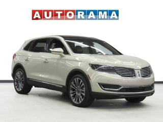 Used 2016 Lincoln MKX NAVIGATION LEATHER PAN SUNROOF 4WD BACKUP CAM for sale in Toronto, ON