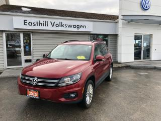 Used 2015 Volkswagen Tiguan Special Edition for sale in Walkerton, ON