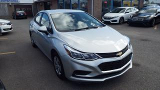Used 2017 Chevrolet Cruze LS/NO ACCIDENT/BACKUP CAMERA/IMMACULATE$16900 for sale in Brampton, ON