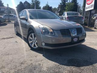 Used 2004 Nissan Maxima SL for sale in Surrey, BC