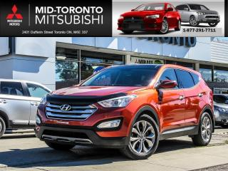 Used 2013 Hyundai Santa Fe Sport 2.0T SE Leather Panoramic Sunroof Back Up Camera for sale in North York, ON