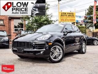 Used 2015 Porsche Macan S*Panoramic*Navi*Camera*BlindSpot*FullOpti* for sale in Toronto, ON