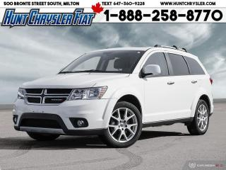 Used 2018 Dodge Journey GT | AWD | NAV | SUN | 7 PASS | 8.4 & MORE!!! for sale in Milton, ON