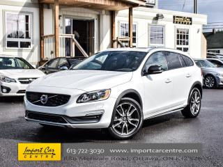Used 2015 Volvo V60 Cross Country T5 AWD BLIS ROOF PDC WOW!! for sale in Ottawa, ON