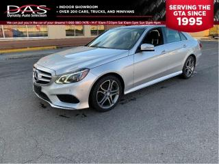 Used 2014 Mercedes-Benz E-Class 250 BlueTEC NAVIGATION/PANORAMIC SUNROOF/BLIND for sale in North York, ON