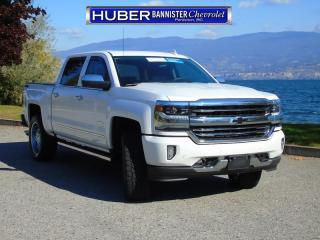 Used 2017 Chevrolet Silverado 1500 4X4/ Leather/ Sunroof for sale in Penticton, BC