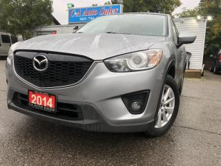Used 2014 Mazda CX-5 4dr Auto GS NAVIGATION sunroof  heated seats non accident for sale in Brampton, ON
