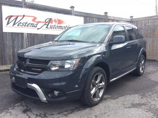 Used 2018 Dodge Journey Crossroad Awd, 7 Passenger, Dvd, Sunroof for sale in Stittsville, ON