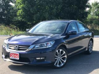Used 2014 Honda Accord Sedan Sport Accident Free Financing Available for sale in Mississauga, ON