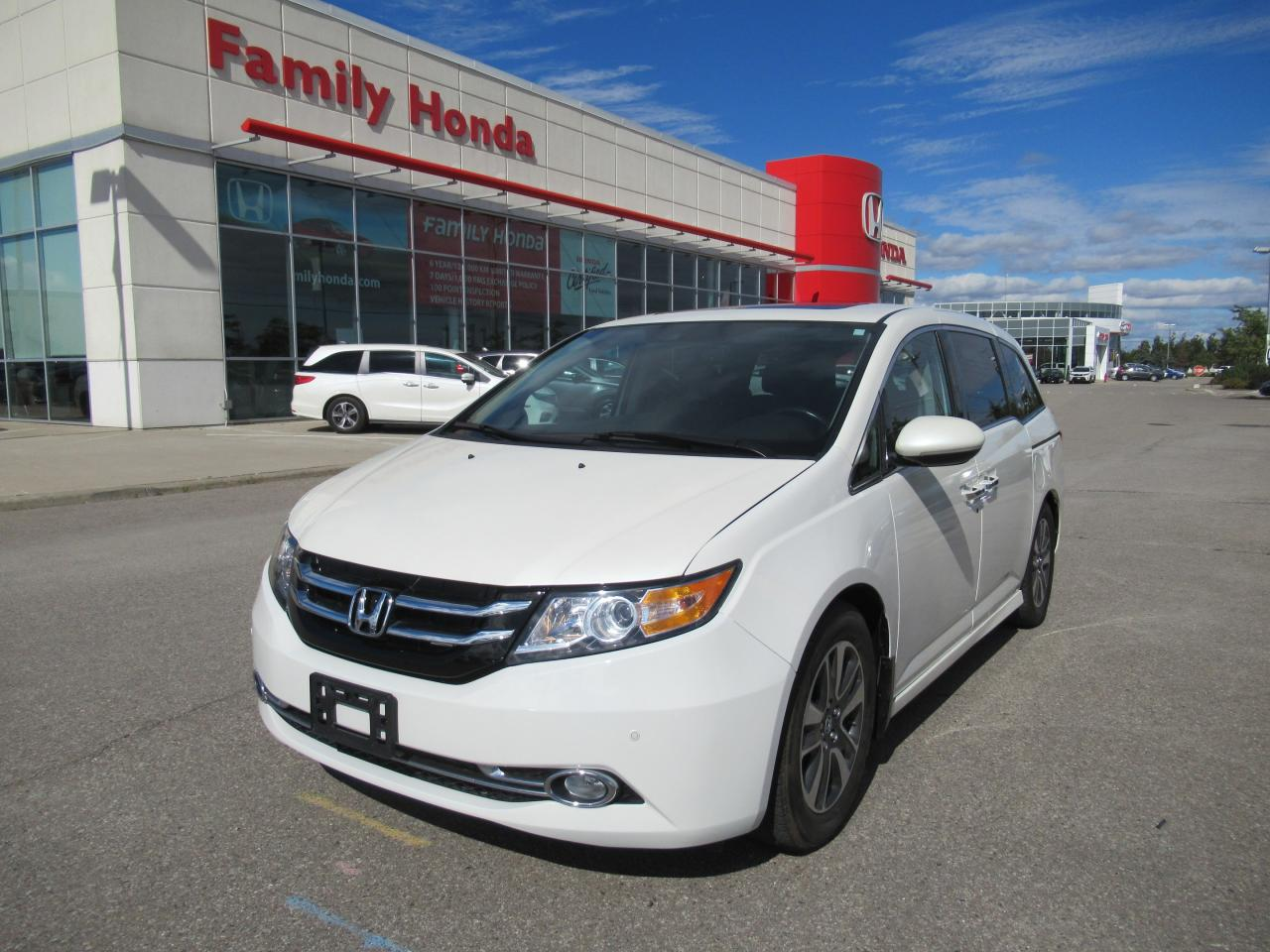 used 2015 honda odyssey touring fully loaded for sale in brampton ontario. Black Bedroom Furniture Sets. Home Design Ideas