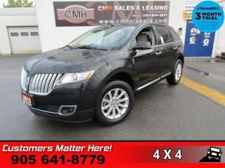 Used 2013 Lincoln MKX AWD LEATH NAV ROOF THX-AUDIO HS/CS BU-CAM P/GATE for sale in St. Catharines, ON