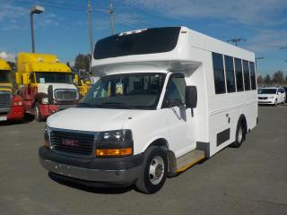 Used 2008 GMC Savana G3500 13 Passenger Bus Diesel with Seatbelts and Wheelchair Accessibility for sale in Burnaby, BC