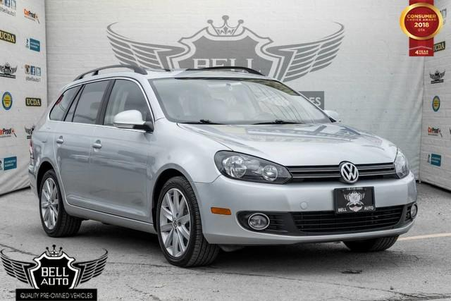 2014 Volkswagen Golf HIGHLINE TDI, NO ACCIDENT, DIESEL, NAVI, PANO ROOF, LEATHER