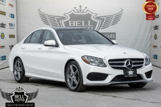 Used 2015 Mercedes-Benz C 300 4MATIC AMG SPORT SEATS NAVIGATION SUNROOF LEATHER BACK-UP CAMERA for sale in Toronto, ON