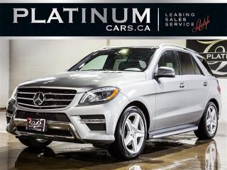 Used 2015 Mercedes-Benz ML 350 BlueTEC, AMG SPORT, NAVI, PANO, CAM for sale in Toronto, ON