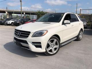 Used 2014 Mercedes-Benz ML 350 BlueTEC,NAVI, Driver Assist PKG., Leather for sale in Toronto, ON