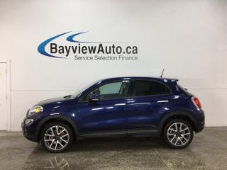 Used 2017 Fiat 500 X Trekking - REM START! PANOROOF! SELEC-TERRAIN! BLUETOOTH! for sale in Belleville, ON