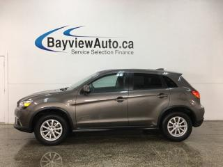 Used 2018 Mitsubishi RVR - AUTO! HTD SEATS! A/C! BLUETOOTH! REVERSE CAM! for sale in Belleville, ON