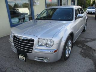 Used 2009 Chrysler 300 LOADED LIMITED EDITION 5 PASSENGER 3.5L - V6.. LEATHER.. HEATED SEATS.. CD/AUX/USB INPUT.. BLUETOOTH SYSTEM.. for sale in Bradford, ON