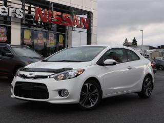 Used 2014 Kia Forte Koupe Bluetooth, reverse camera, power locks, CD, A/C, cruise control, heated seats, tilt steering for sale in Orleans, ON