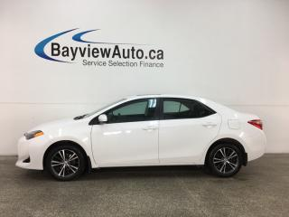 Used 2018 Toyota Corolla LE - ALLOYS! SUNROOF! HTD SEATS! LDW! HTD STRNG WHEEL! REVERSE CAM! for sale in Belleville, ON