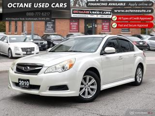 Used 2010 Subaru Legacy 2.5 i Sport Package ACCIDENT FREE! for sale in Scarborough, ON