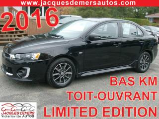 Used 2016 Mitsubishi Lancer LIMITED EDITION for sale in Victoriaville, QC