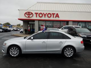 Used 2012 Audi A4 2.0T for sale in Cambridge, ON