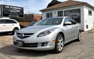 Used 2009 Mazda MAZDA6 GT MANUAL SUNROOF LEATHER NO ACCIDENT for sale in Mississauga, ON