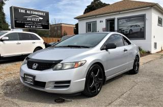 Used 2009 Honda Civic DX COUPE for sale in Mississauga, ON