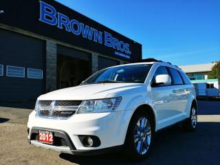 Used 2012 Dodge Journey R/T, LEATHER, HTD SEATS, MOONROOF for sale in Surrey, BC