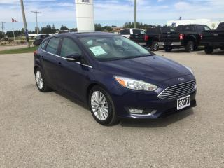 Used 2017 Ford Focus Titanium | Hatchback | One Owner | Snow Tires for sale in Harriston, ON