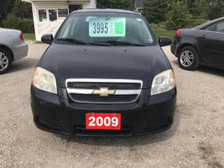 Used 2009 Chevrolet Aveo LS for sale in Oro Medonte, ON
