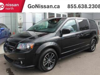 Used 2017 Dodge Grand Caravan GT: BACKUP CAMERA, POWER SLIDING DOORS, POWER LIFTGATE, HEATED STEERING for sale in Edmonton, AB
