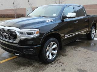 New 2019 RAM 1500 Limited 4x4 Crew Cab / Surround View Camera System / Panoramic Sunroof for sale in Edmonton, AB