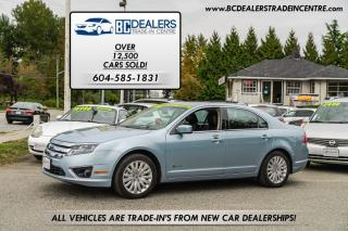 Used 2010 Ford Fusion HYBRID, Leather, Sunroof, Bluetooth, ONLY 78k! for sale in Surrey, BC