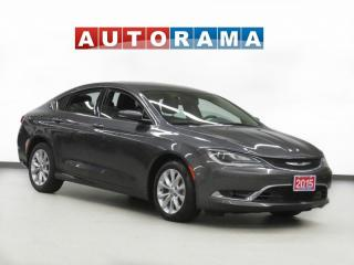 Used 2015 Chrysler 200 NAVIGATION BACK UP CAMERA LEATHER ALLOY WHEELS for sale in Toronto, ON