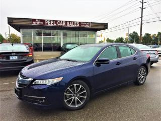 Used 2015 Acura TLX NAVI|HUD|CLEAN CARPROOF| for sale in Mississauga, ON