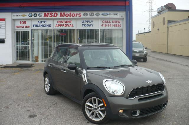 2011 MINI Cooper Countryman S AWD LEATHER,ROOF