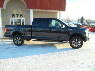 Used 2015 Ford F-150 SPORT CREW CAB 4X4 for sale in Lévis, QC