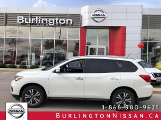 Used 2017 Nissan Pathfinder SV, 4WD, 7 PASS, HTD SEATS, FINANCE from 2.39 % ! for sale in Burlington, ON
