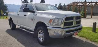 Used 2012 RAM 3500 SLT CREW CAB LWB 4WD for sale in West Kelowna, BC