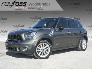 Used 2014 MINI Cooper Countryman Cooper S LEATHER, SUNROOF for sale in Woodbridge, ON