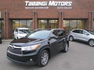Used 2015 Toyota Highlander XLE | NAVIGATION | LEATHER | SUNROOF | REAR CAMERA | for sale in Mississauga, ON