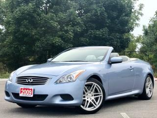 Used 2009 Infiniti G37 S Convertible|6 Speed|NAVI|ACCIDENT FREE for sale in Mississauga, ON