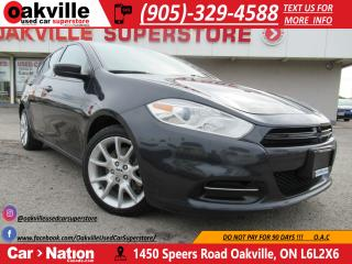 Used 2013 Dodge Dart SXT | A/C | ALLOY WHEELS | LOW KM!! for sale in Oakville, ON
