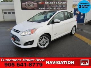 Used 2014 Ford C-MAX SEL  HYBRID NAVI LEATHER ROOF HEATED SEATS POWER SEAT for sale in St. Catharines, ON