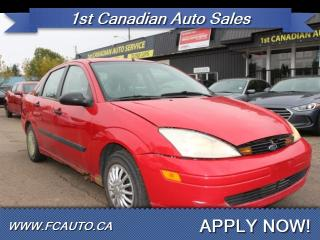 Used 2000 Ford Focus LX for sale in Edmonton, AB